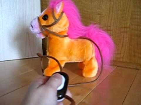 Remote Control Walking Pony