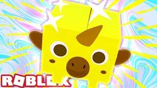 GOLDEN UNICORN SURPRISE! | Roblox Pet Simulator