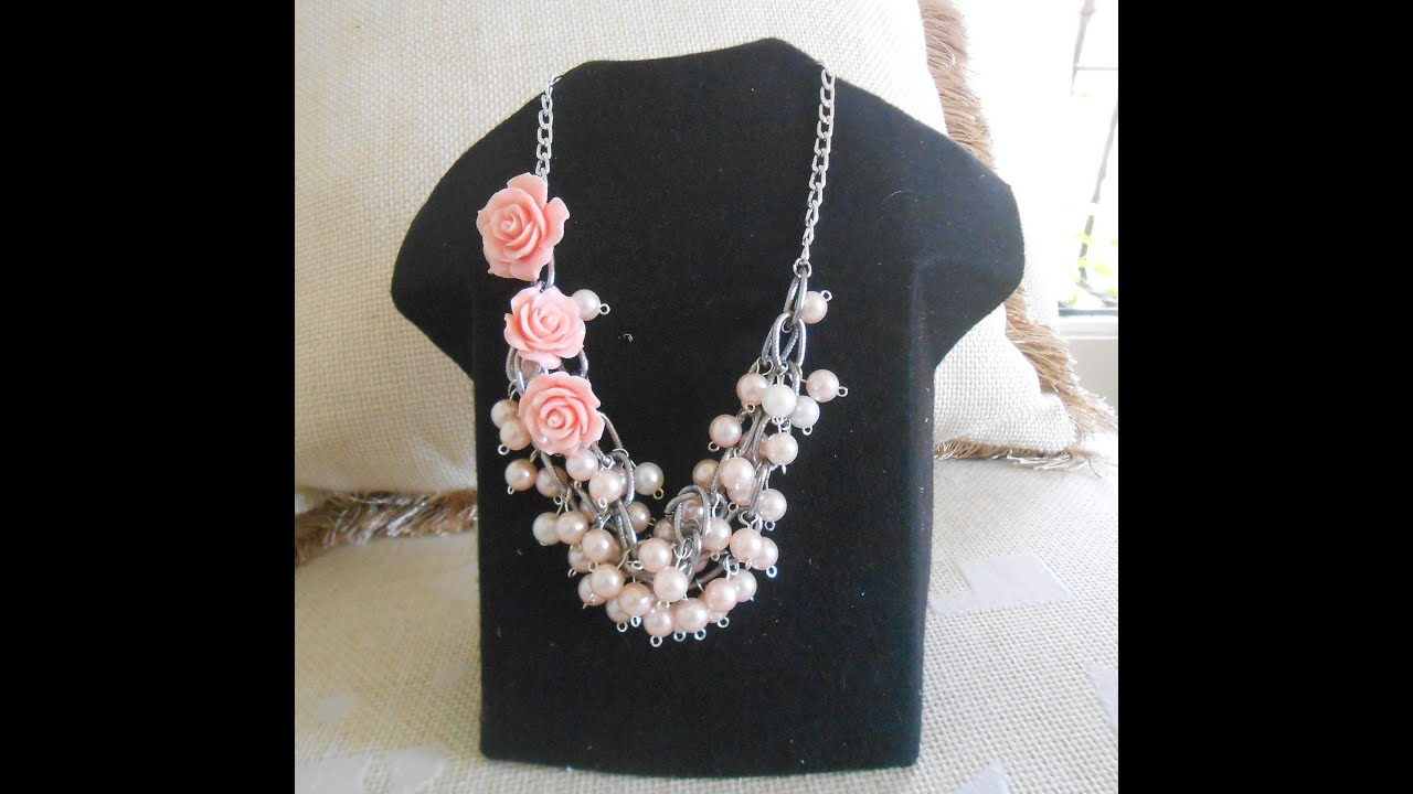 DIY Collar de Perlas chic ,Bisuteria con Kath Craft ,