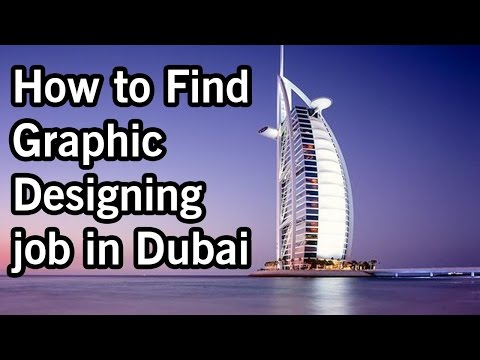 How to find Graphic designing job in Dubai in urdu/hindi by Asad Ali