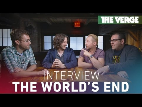'The World's End' Interview: Simon Pegg, Nick Frost, and Edgar Wright