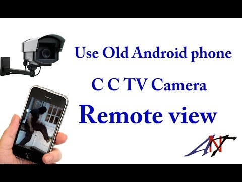 Use Old Android Phone Home C C TV Camera Remote views  (Bangla)