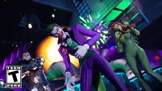 Fortnite The Last Laugh Bundle Cinematic Trailer - Joker, Midas Rex and Poison Ivy Trailer