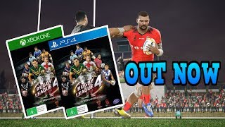 RUGBY LEAGUE LIVE 4 WORLD CUP EDITION OUT NOW