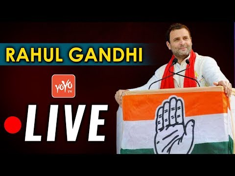Congress President Rahul Gandhi Launches Save The Constitution Campaign LIVE | New Delhi | YOYO TV