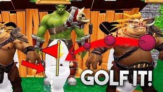 TENEMOS QUE ENTRAR COMO UNA CACA!!! Golf It!