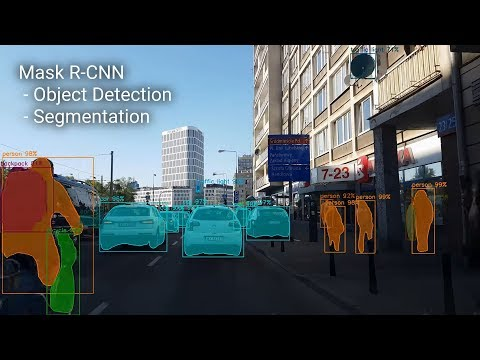 4K Mask RCNN COCO Object detection and segmentation #2