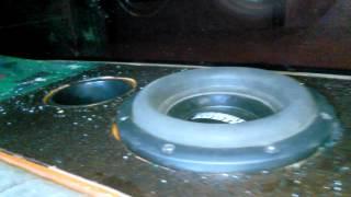 Sundown audio as 8,sub enclosure fiberglassed