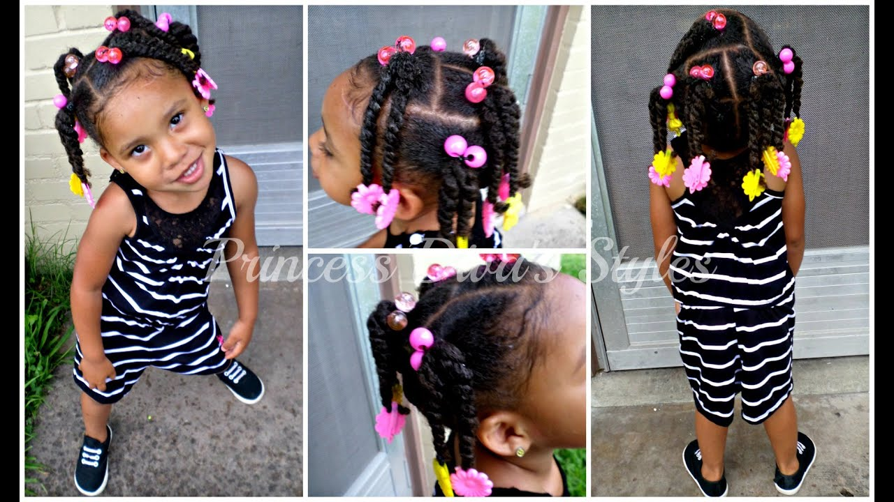 princess boo quick toddler hair