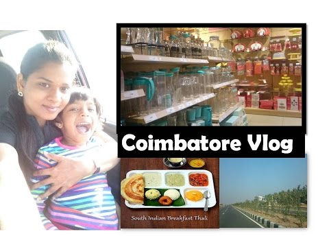 Coimbatore Vlog | Brookfield mall |Food, Shopping & More | Deeps Kitchen