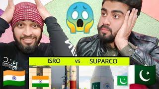 Pakistani bros shocking Reaction On Isro vs Suparco