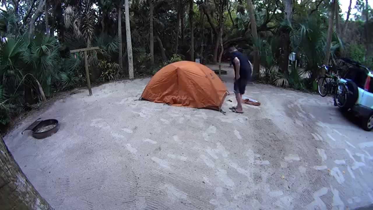 ????????? Florida c&ing Marmot Aspen 2 tent Sony Action Camera & ????????? Florida camping Marmot Aspen 2 tent Sony ...