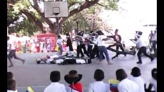Escenificaciòn de la Batalla de Bocachica E B  Aristides Rojas