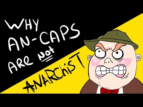 Why Anarcho-Capitalists Aren't Anarchists!