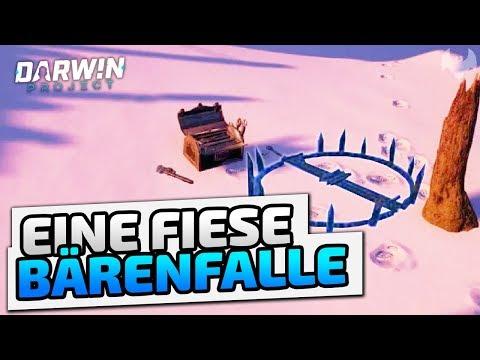 Eine fiese Bärenfalle - ♠ Darwin Project  ♠ - Deutsch German - Dhalucard