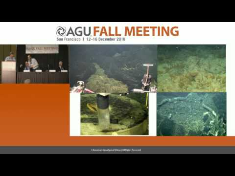 FM16 Press Conference: First results from Axial Seamount, an active underwater volcano