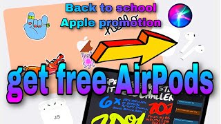 PROMOTION FROM APPLE.  BACK TO SCHOOL 2020.