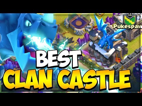 Best Defensive Clan Castle Troops For TH 9 In Clash Of Clans