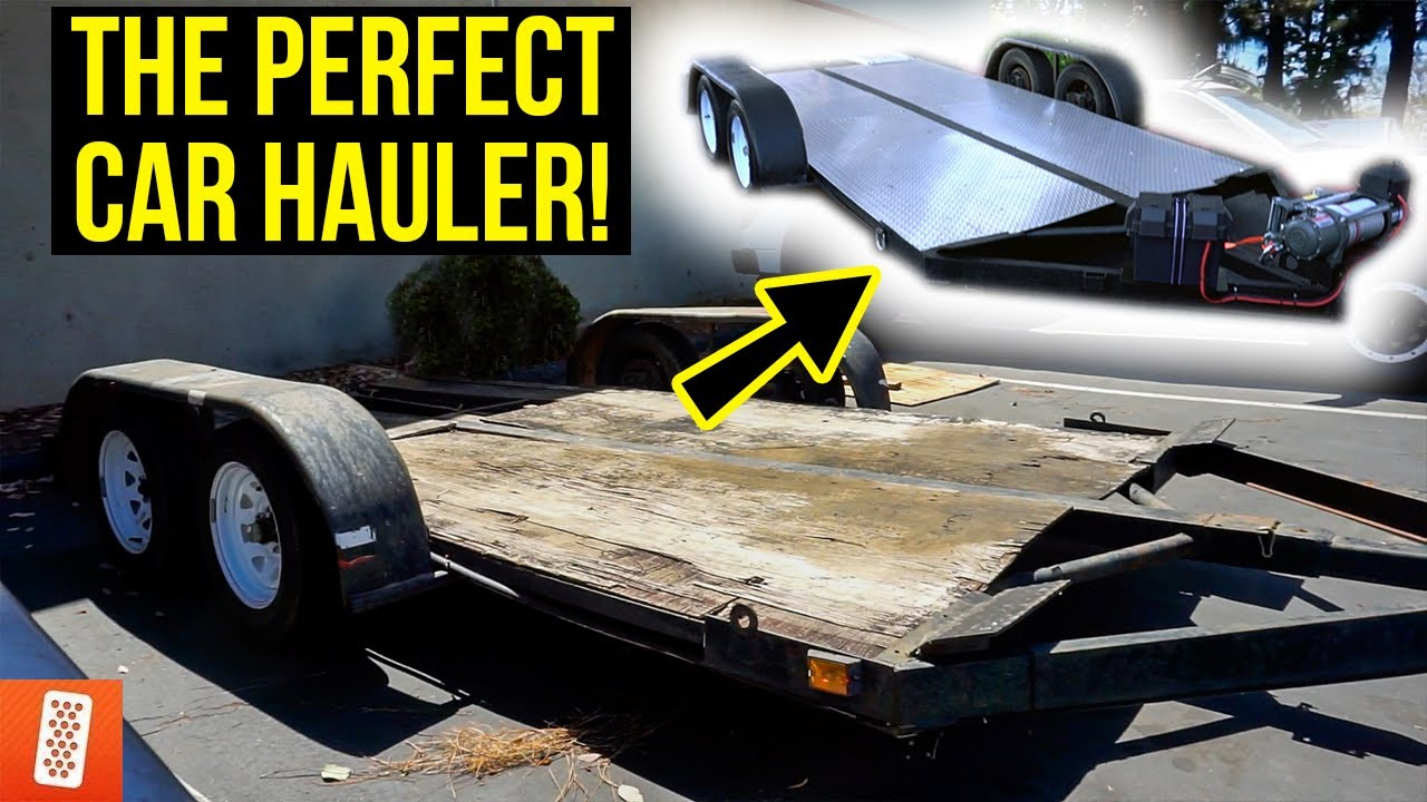 Turning a $500 Trailer into a $5,000 Trailer! (COMPLETE TRANSFORMATION)