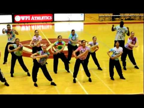 WPI Dance Team  Funk Soul Brother  Bball Game 2012