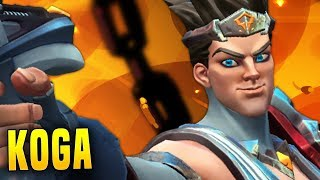 Ultimate Spam Koga Is Ridiculous! | Paladins