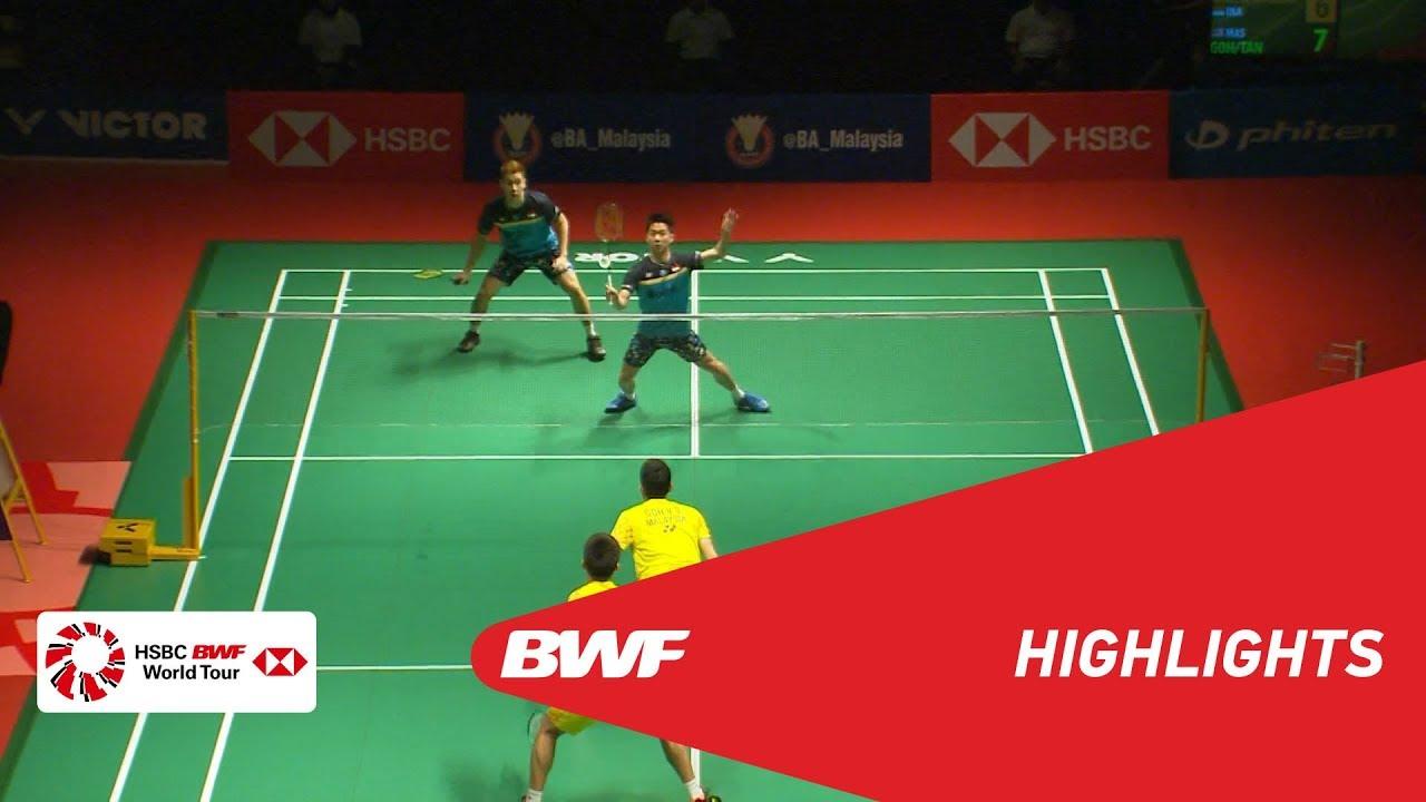 PERODUA Malaysia Masters 2019  MD - SF - HIGHLIGHTS  BWF