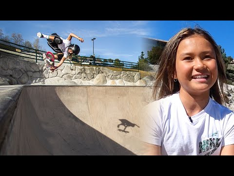 11-Year-Old Olympian Sky Brown's Day Out