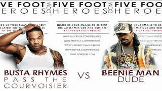 Beenie Man - Dude vs Busta Rhymes - Pass The Courvoisier (Remix Blend) + MP3 Download Link
