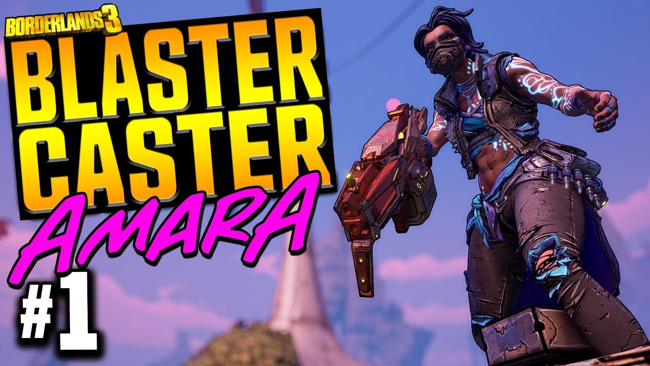 Borderlands 3 | Blaster Caster Amara - Funny Moments & Legendary Loot | Day #1 thumbnail