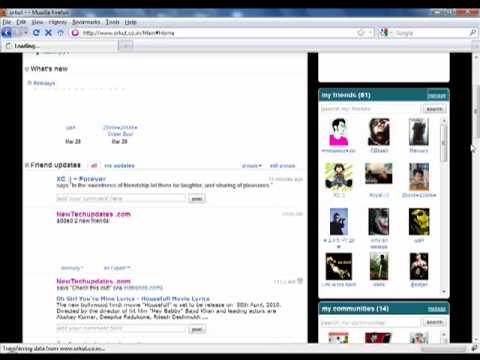 How To Download Orkut Contacts List