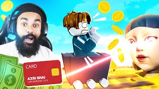I PAID MONEY TO WIN SQUID GAMES | ROBLOX