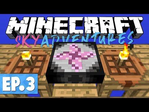 Minecraft FTB Sky Adventures - Transmutation Table! #3 [Modded Questing Survival]