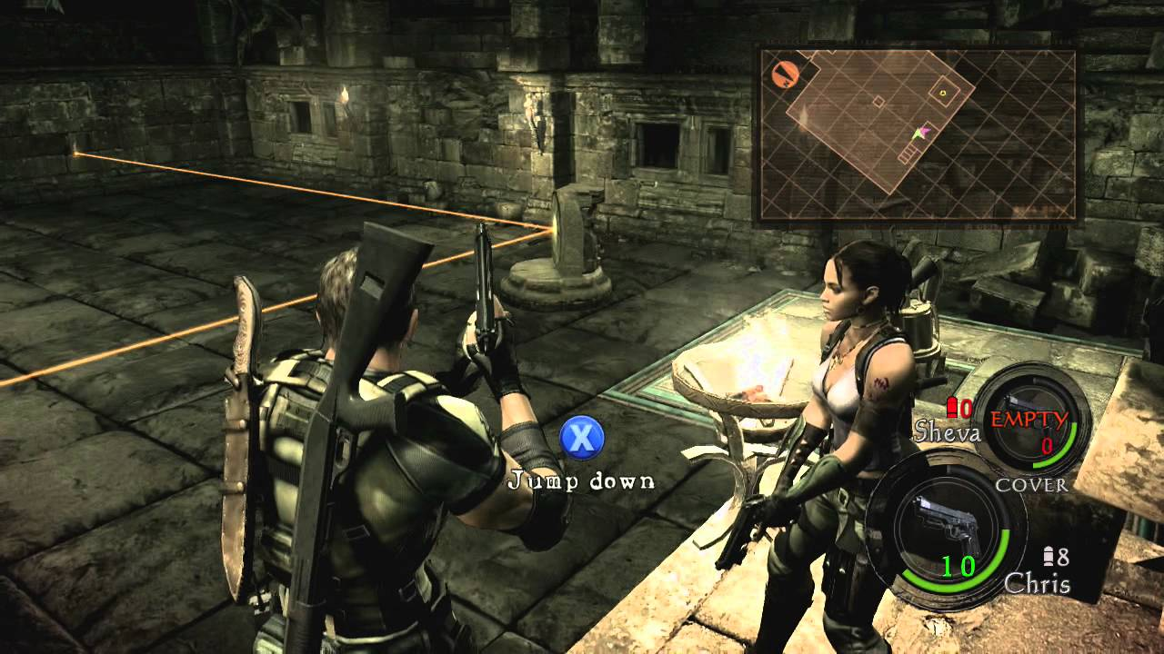 Resident evil 5 gameplay walkthrough part 10 mirrors for Mirror gameplay walkthrough