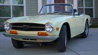 1969 TR6 - Sights and Sounds
