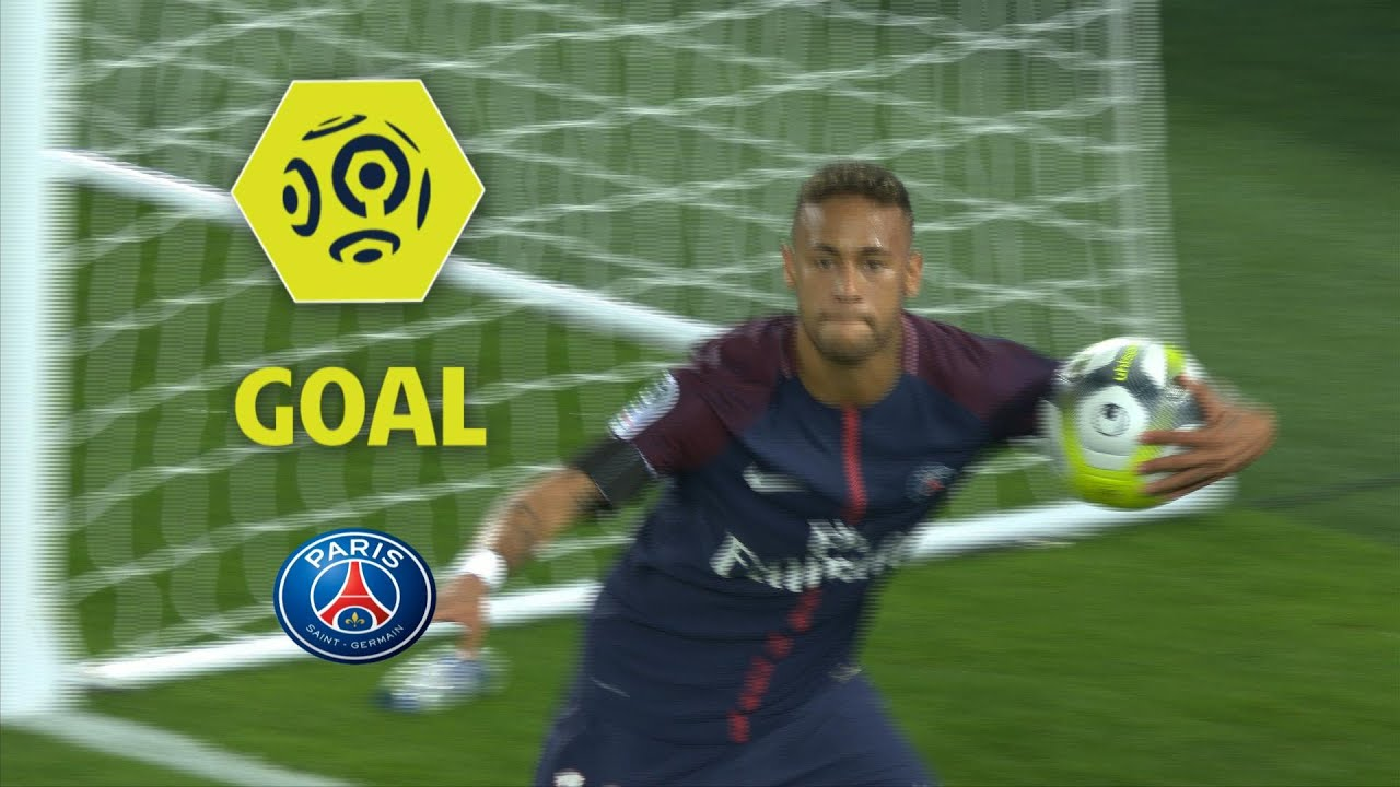 Goal Neymar Jr  Paris Saint Germain Toulouse Fc