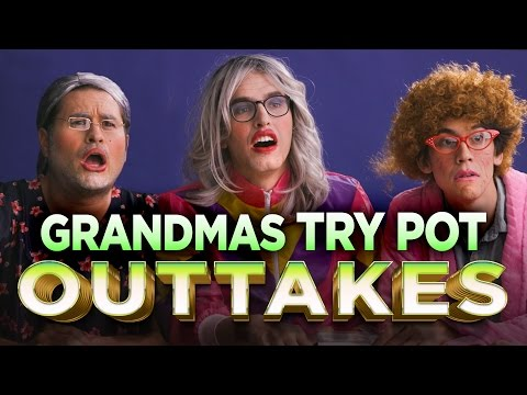 Definitely Real Grandmas Try Pot for the First Time OUTTAKES