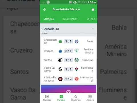 Resultados Y Tabla De Posiciones Fecha 13 Brasileirao 2018