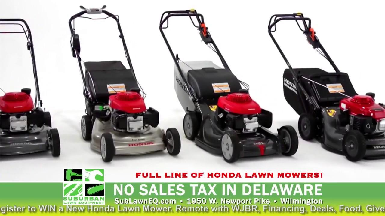 Honda Dealer Days | Suburban Lawn Equipment | DE