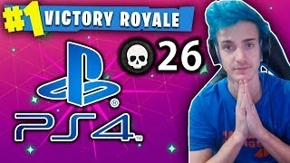 THIS KID IS THE FORTNITE NINJA OF PS4!! - (26 KILL SQUAD WIN!?)