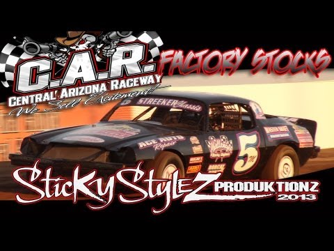 4/20/13 Factory Stock Main Event - Central Arizona Raceway