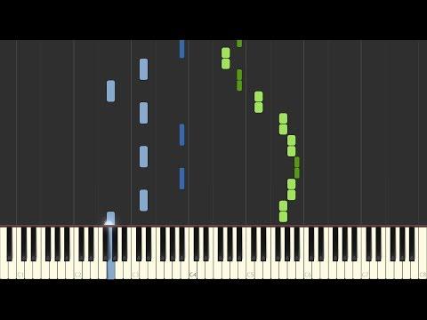 Chopin - Spring Waltz [Piano Tutorial] (Synthesia/Sheet Music)