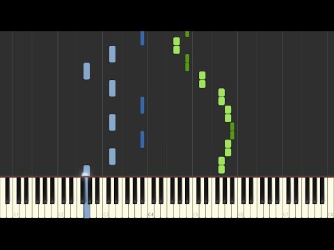Chopin - Spring Waltz (Mariage d'Amour) [Piano Tutorial] (Synthesia/Sheet Music)