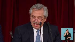 Discurso del presidente Alberto Fernández en la apertura de sesiones ordinarias del Congreso