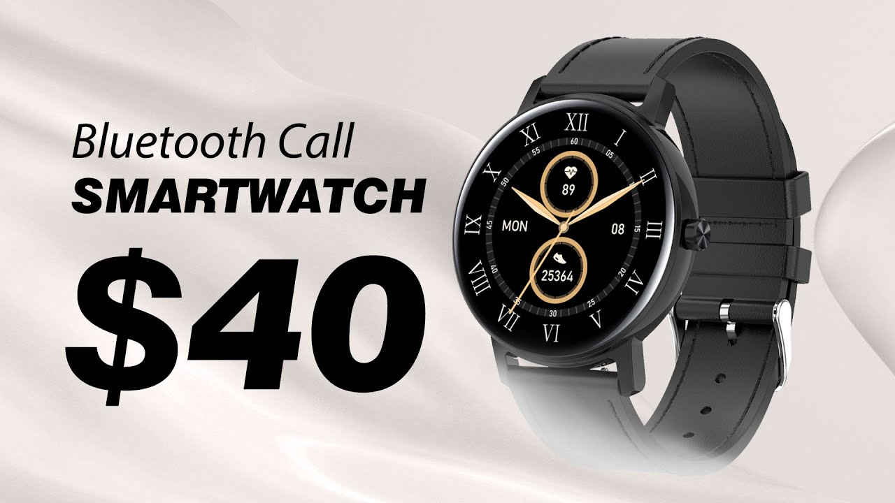 $40 Smartwatch That Can Make Phone Calls?