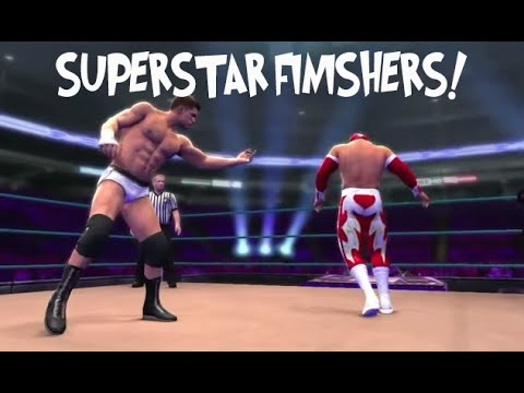 WWE13: ALL Superstar FINISHERS
