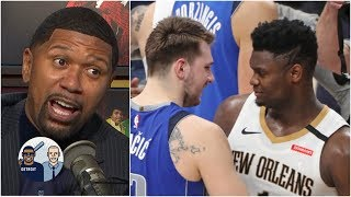 Jalen Rose reacts to the Luka Doncic vs. Zion Williamson showdown | Jalen & Jacoby