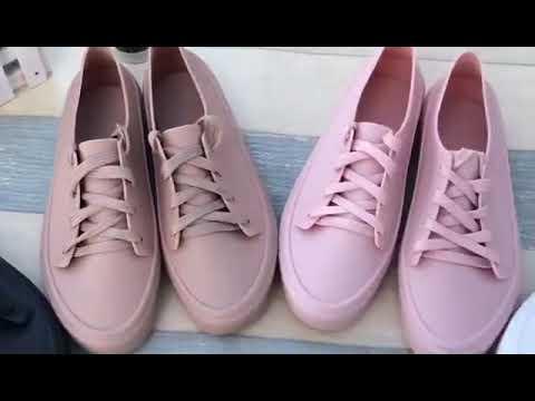 CPMAX 韓系時尚雨鞋 小白鞋 女低幫雨靴 韓版雨鞋 平底鞋 雨靴 低筒雨鞋 雨鞋 女雨靴 時尚平底鞋【S104】