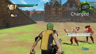 ONE PIECE: Pirate Warriors 3 | Zoro moveset showcase 「ワンピース 海賊無双3」