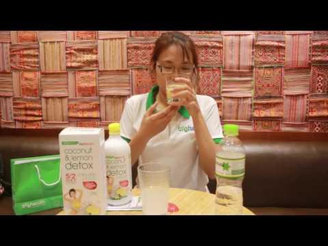 Hướng dẫn sử dụng Coconut Detox 2 ngày giảm cân