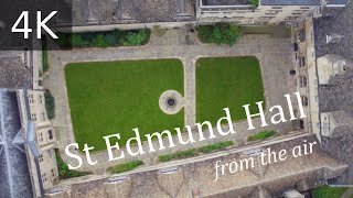 St Edmund Hall, University of Oxford, from the air